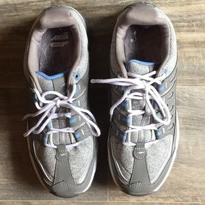 Avia grey and white sneakers
